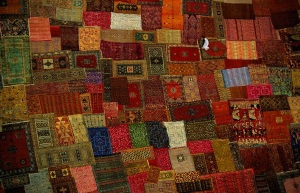 Yann Arthus Bertrand, Marrakesh carpet, Marocco