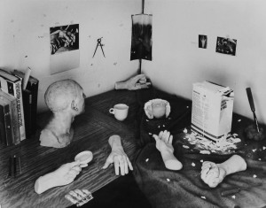 Zeke Berman, The Sculptor's Studio, Touching and Retouching, 1980, by Zeke Berman