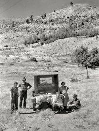 Arthur Rothstein, Oregon or bust, 1936, shorpy.com
