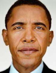 Martin Schoeller, Barack Obama, 2012